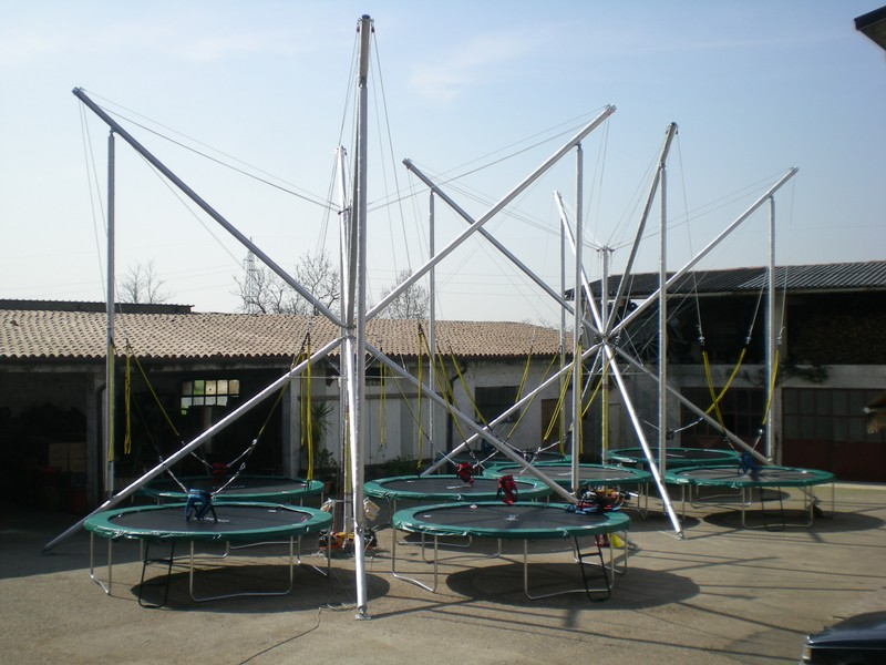Bungee trampoline elastico